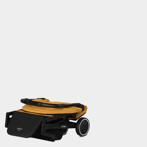 Folded sroller