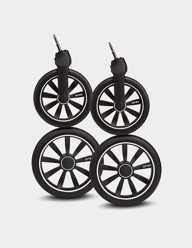 Air free wheels
