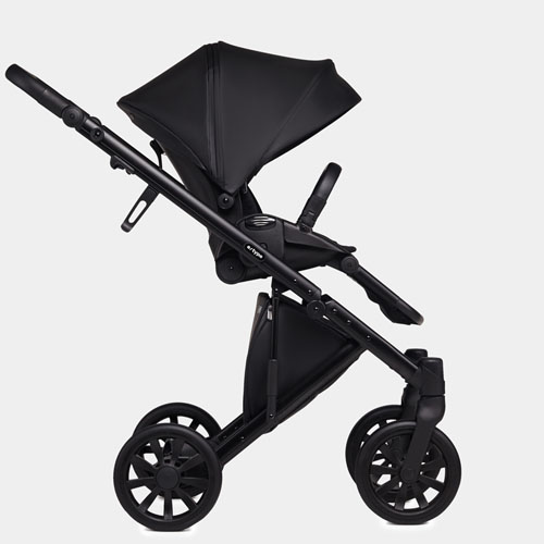 Stroller with seat unit