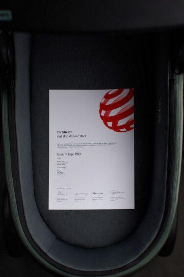 Anex m/type PRO — Red Dot-winning Stroller
