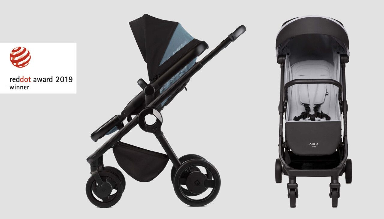 The design of Anex strollers has won the Red Dot Award 2019